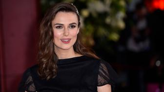 LONDON, ENGLAND - FEBRUARY 18: Keira Knightley attends 'The Aftermath' World Premiere held at The Picturehouse Central on February 18, 2019 in London, England. (Photo by Kristy Sparow/WireImage)