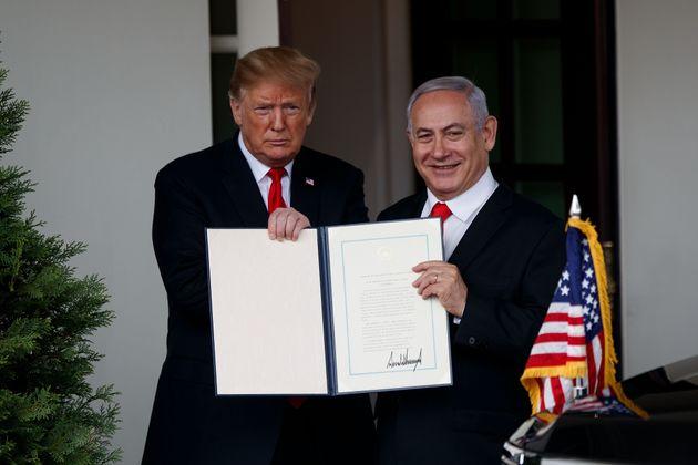 Plateau du Golan: La décision de Trump largement