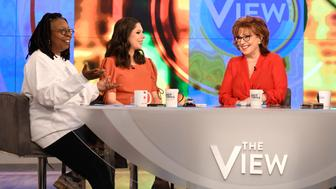 THE VIEW - Preet Bharara and Priyanka Chopra Jonas are the guests today, Tuesday, March 19, 2019 on ABC's 'The View.'  'The View' airs Monday-Friday (11:00 am-12:00 noon, ET) on the ABC Television Network.     (Photo by Paula Lobo/ABC via Getty Images) WHOOPI GOLDBERG, ABBY HUNTSMAN, JOY BEHAR