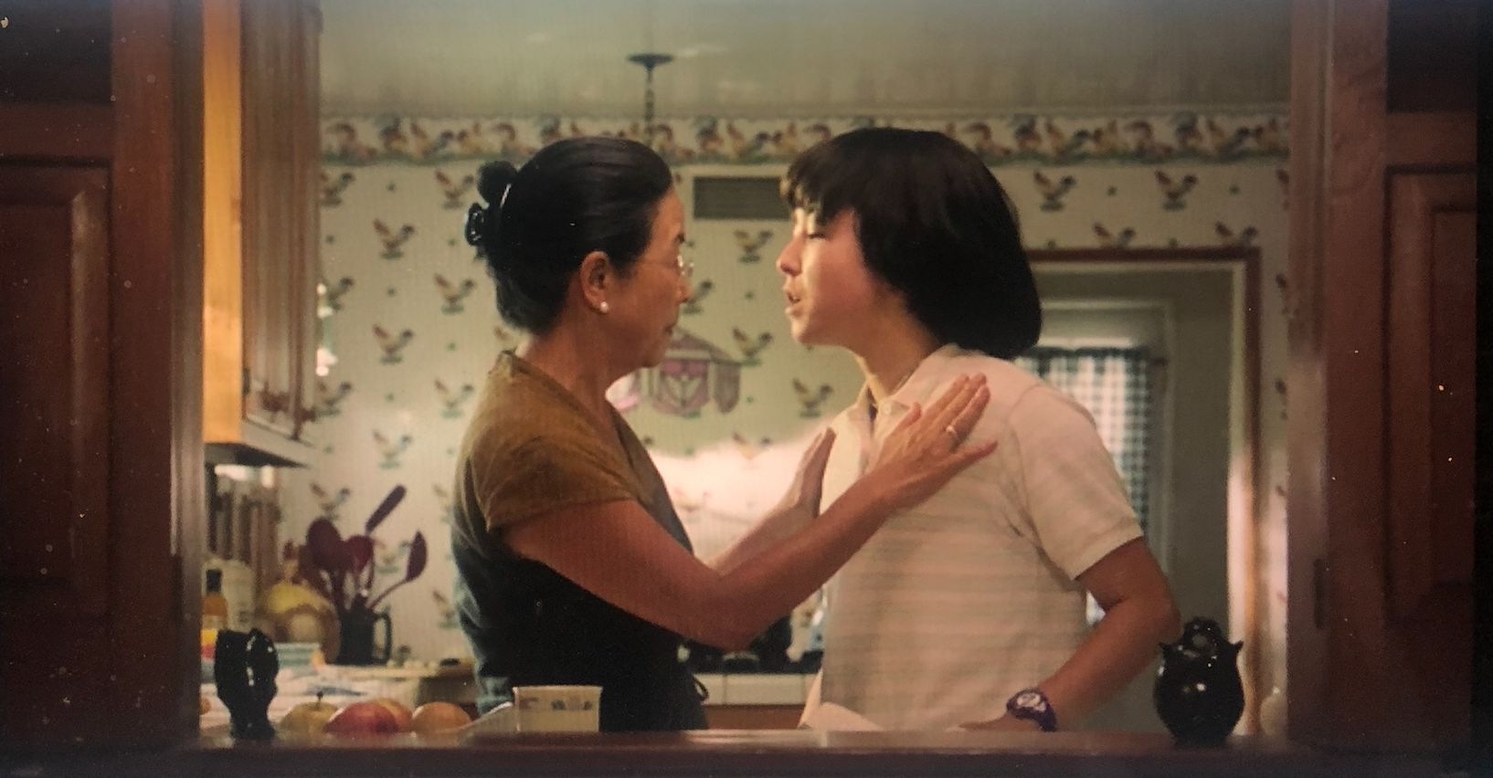Maya's mother is a strict Asian mom whose love for her daughter is undeniable.