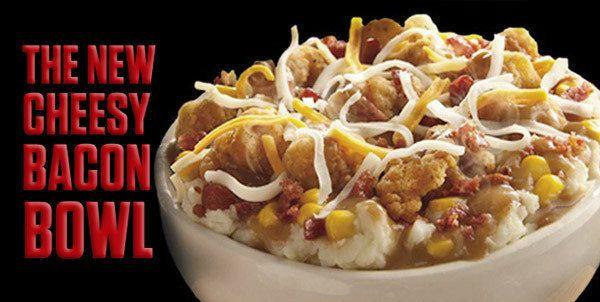 KFC's Cheesy Bacon Bowl, Reviewed | HuffPost