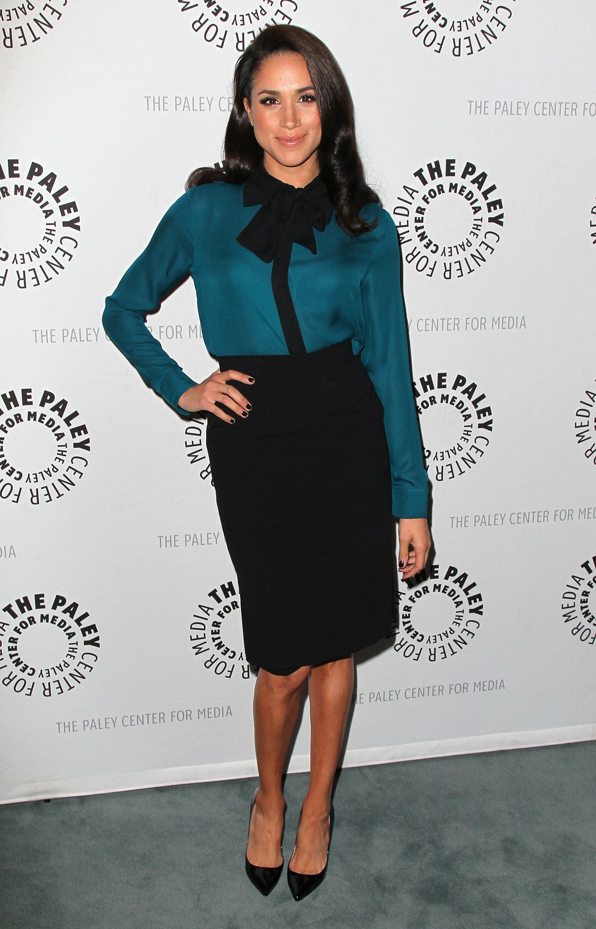 BEVERLY HILLS, CA - JANUARY 14:  Actress Meghan Markle attends The Paley Center for Media's presentation of An Evening With 'Suits'  at The Paley Center for Media on January 14, 2013 in Beverly Hills, California.  (Photo by David Livingston/Getty Images)