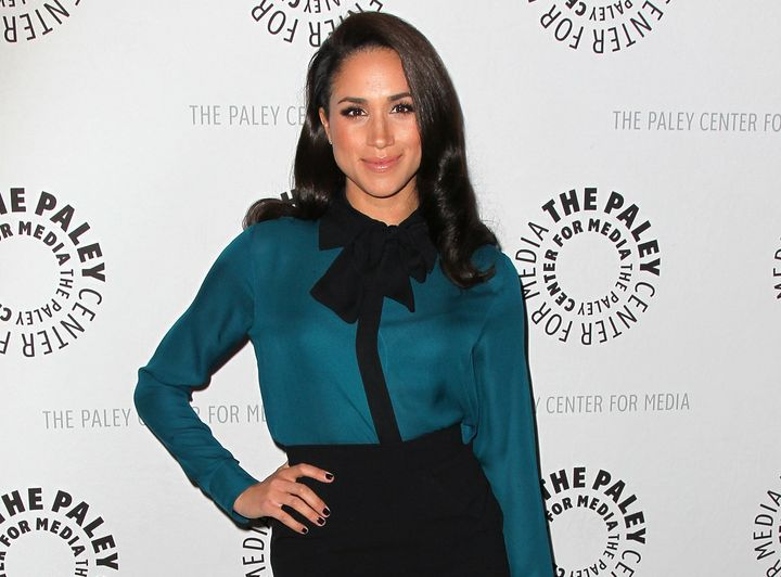 Meghan Markle attends The Paley Center for Media's presentation of An Evening With 'Suits' on Jan. 14, 2013 in Beverly Hills.
