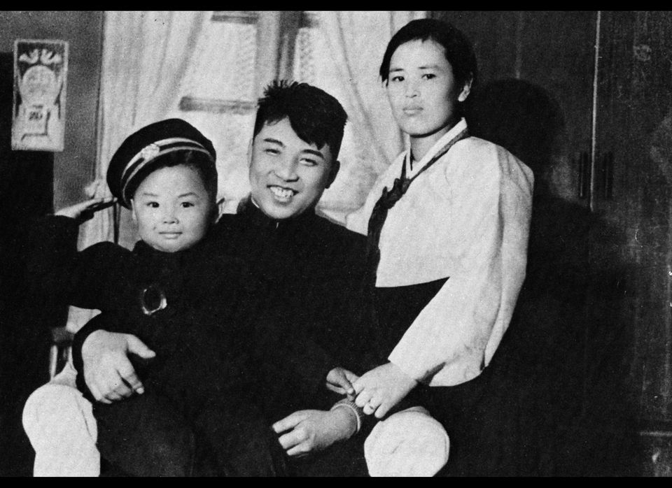 Kim Jong Il is born in a guerrilla fighters' camp on Mount Paektu, the highest peak on the Korean peninsula, according to off
