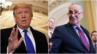 Trump Schumer split