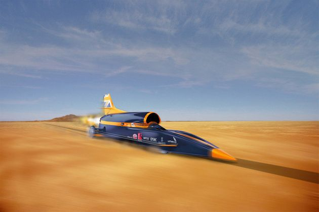 Land Speed Record >> Bloodhound Project Land Speed Record Competitors Vie For