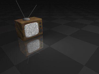 3D version of Image:Pixelart-tv-iso.png .  Done in POV-Ray, about 20 mins. Image:Pixelart-tv-niso. png Image:Pixelart-tv-iso.