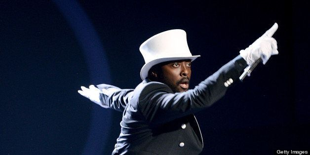 HOLLYWOOD, CA - MAY 1: Singer will.i.am performs onstage at FOX's 'American Idol' Season 12 Top 4 to 3 Live Elimination Show