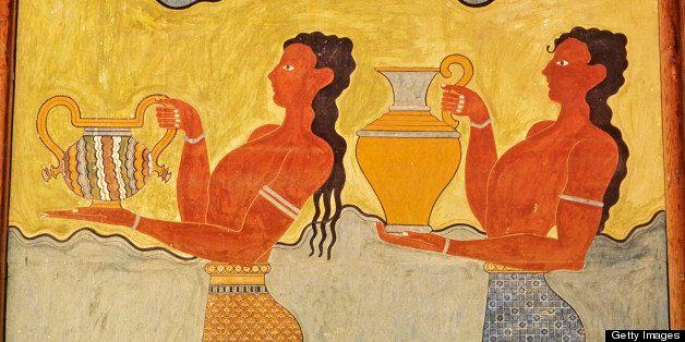 Knossos Minoan fresco