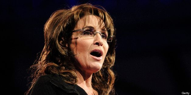 NATIONAL HARBOR, MD - MARCH 16: Sarah Palin, former Governor of Alaska, speaks at the 2013 Conservative Political Action Conf