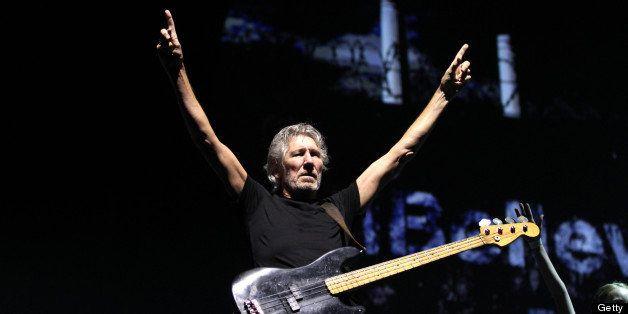 ARNHEM, NETHERLANDS - JULY 18:  Roger Waters performs at GelreDome on July 18, 2013 in Arnhem, Netherlands.  (Photo by Greets