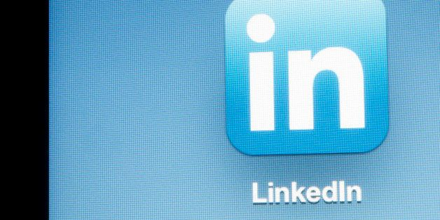The LinkedIn Corp. application icon is displayed on an Apple Inc. iPad in New York, U.S., on Thursday, April 26, 2012. For a