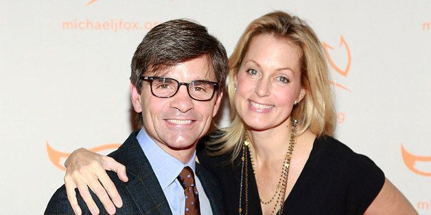 NEW YORK, NY - NOVEMBER 09:  George Stephanopoulos and Ali Wentworth attend 2013 A Funny Thing Happened On The Way To Cure Pa