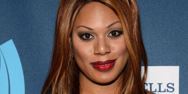 NEW YORK, NY - MARCH 16:  Laverne Cox attends the 24th Annual GLAAD Media Awards on March 16, 2013 in New York City.  (Photo