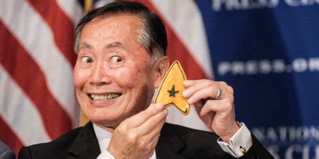 WASHINGTON, DC - OCTOBER 18: George Takei speaks during a luncheon at The National Press Club on October 18, 2013 in Washington, DC. (Photo by Kris Connor/Getty Images)