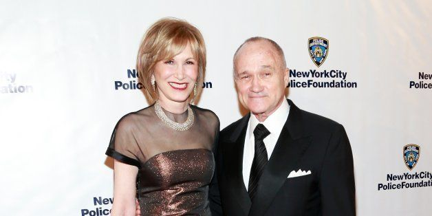 NEW YORK, NY - APRIL 04:  Valerie Salembier and NYC Police Commissioner Ray Kelly attend 2013 New York Police Foundation Gala