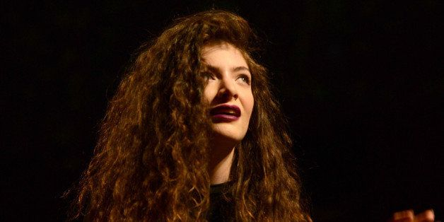 LOS ANGELES, CA - DECEMBER 08:  Lorde aka. Ella Maria Lani Yelich-O'Connor performs during The 24th Annual KROQ Almost Acoust