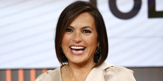 TODAY -- Pictured: Mariska Hargitay appears on NBC News' 'Today' show -- (Photo by: Peter Kramer/NBC/NBC NewsWire via Getty I
