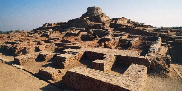 PAKISTAN - DECEMBER 10: Ruins of the archaeological site of Harappa, Indus Valley civilisation, 3rd millennium BC, Punjab, Pa