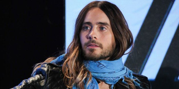 HOLLYWOOD, CA - MARCH 04:  Musician Jared Leto attends the press conference to announce the tour of Linkin Park, Thirty Secon