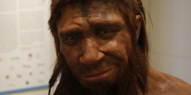 """The homme de Spy (""""Man from Spy"""") is the name given to the skeleton of a Neanderthal man found in 1886 in a cave in"""