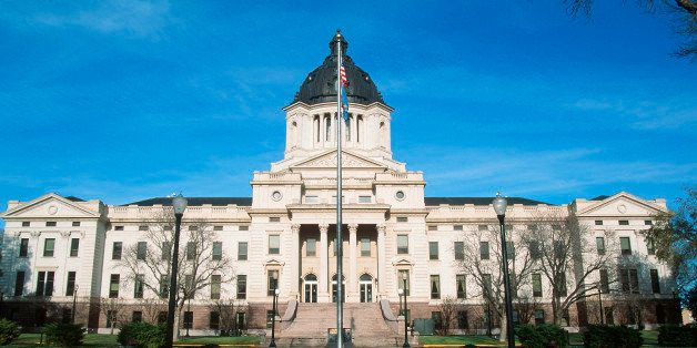 State Capitol of South Dakota, Pierre (Photo by Visions of America/UIG via Getty Images)
