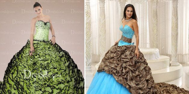d2defdeda94 15 Of The Most Outrageous Quinceañera Dresses Out There