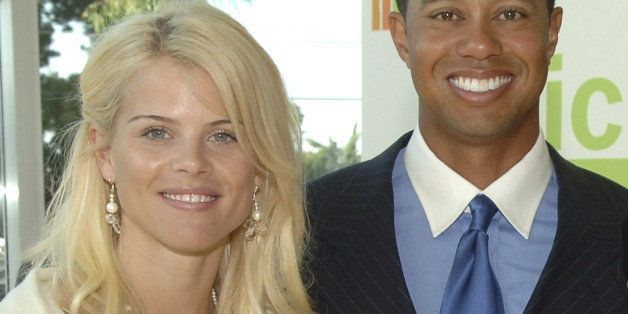 (TABLOIDS OUT) Elin Nordegren and Tiger Woods (Photo by Lester Cohen/WireImage for PGA TOUR)