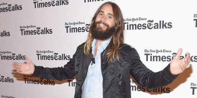 NEW YORK, NY - AUGUST 14:  Jared Leto attends 'TimesTalks Presents An Evening With Jared Leto' at The Times Center on August