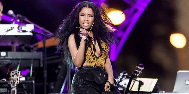 PHILADELPHIA, PA - JULY 04:  Rapper Nicki Minaj performs during the 2014 Philly 4th Of July Jam on July 4, 2014 in Philadelph