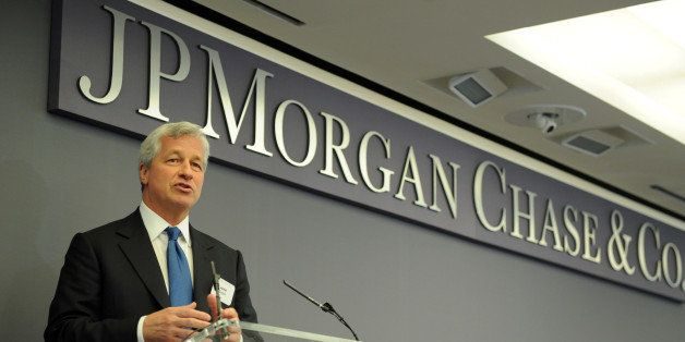 IMAGE DISTRIBUTED FOR JP MORGAN CHASE - Jamie Dimon, JP Morgan & Chase Co. Chairman and CEO, discusses the impact of The