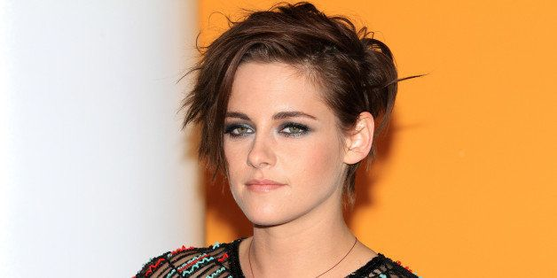"""Actress Kristen Stewart attends a special screening of """"Camp X-Ray"""" at the Crosby Street Hotel on Monday, Oct. 6, 2014, in Ne"""