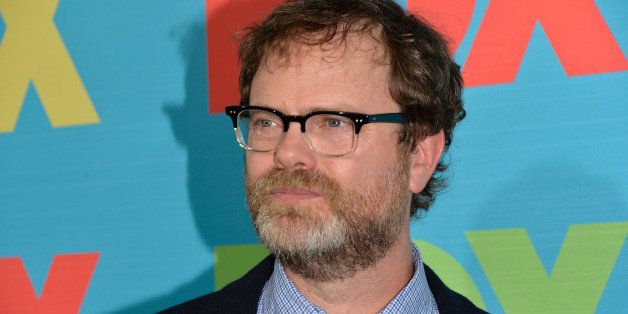 NEW YORK, NY - MAY 12:  Actor Rainn Wilson attends the FOX 2014 Programming Presentation at the FOX Fanfront on May 12, 2014