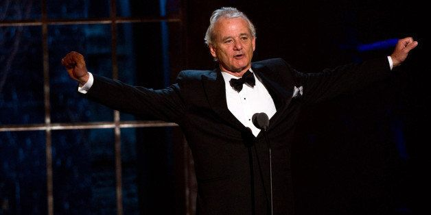 "Bill Murray appears onstage at the ""The Comedy Awards"" presented by Comedy Central in New York, Saturday, March 26, 2011."