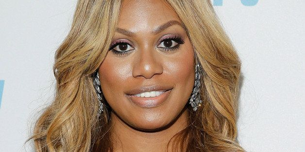 NEW YORK, NY - OCTOBER 16:  Laverne Cox attends 'Laverne Cox Presents: The T Word' Logo TV Premiere Party & Screening at Para