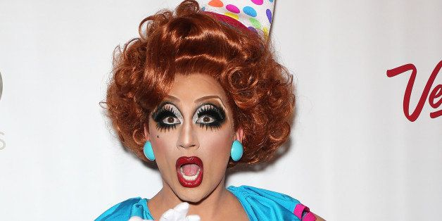 LAS VEGAS, NV - MAY 19:  Cast member and winner of season six of 'RuPaul's Drag Race' Bianca Del Rio arrives at a viewing par