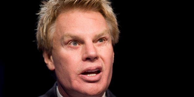 Michael S. Jeffries, chairman and CEO of Abercrombie & Fitch, speaks at the annual National Retail Federation conference