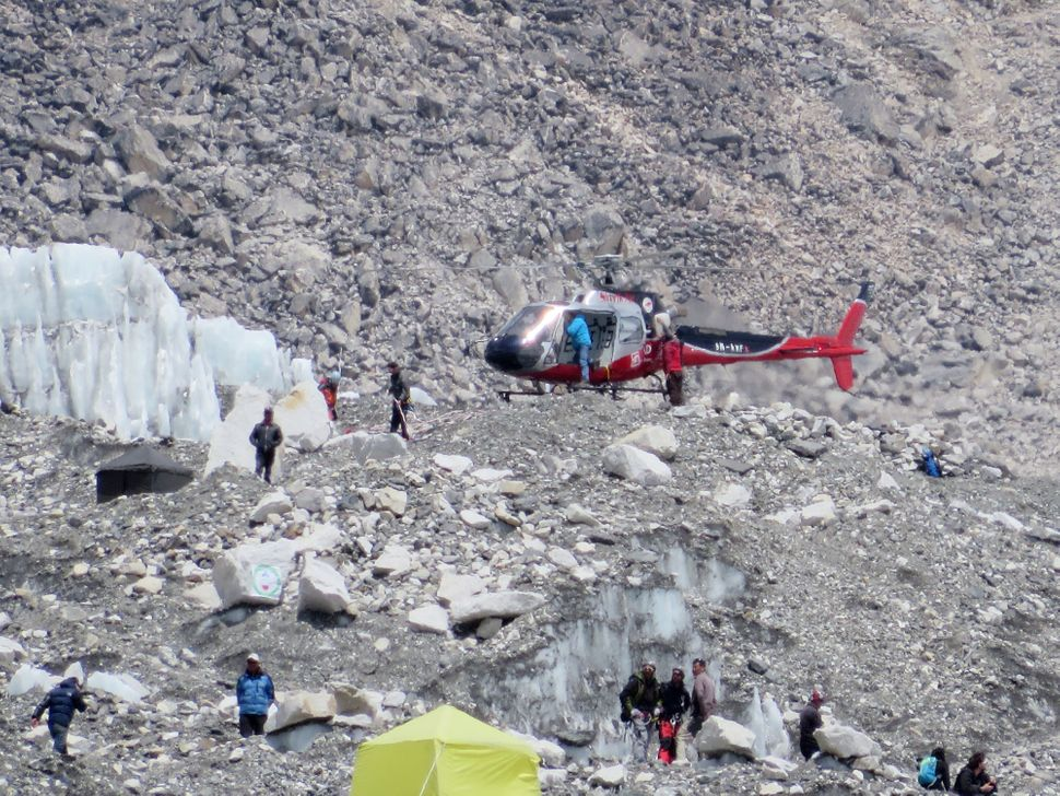 "On the morning of April 18, 16 sherpas <a href=""http://news.nationalgeographic.com/news/2014/04/140418-everest-avalanche-sher"