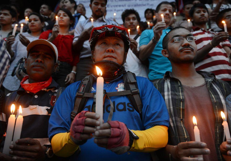"The climbing season is <a href=""http://www.theguardian.com/travel/2014/apr/22/nepal-everest-talks-sherpa-strike-avalanche"" ta"