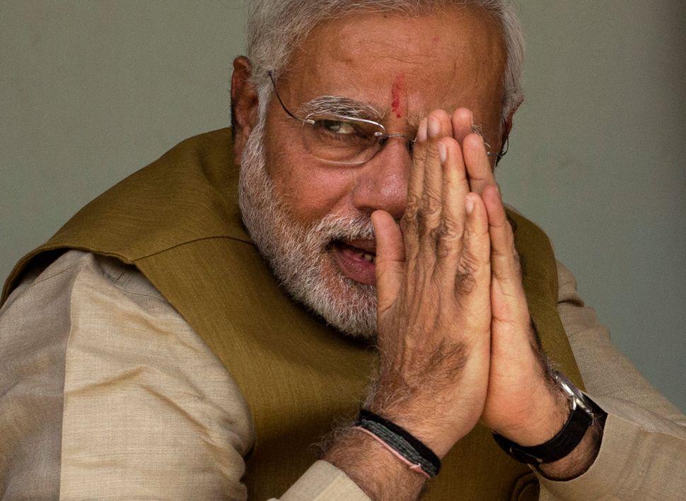 BJP leader Narendra Modi wins India's election.