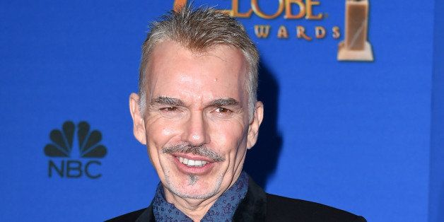 BEVERLY HILLS, CA - JANUARY 11:  Actor Billy Bob Thornton poses in the press room during the 72nd Annual Golden Globe Awards