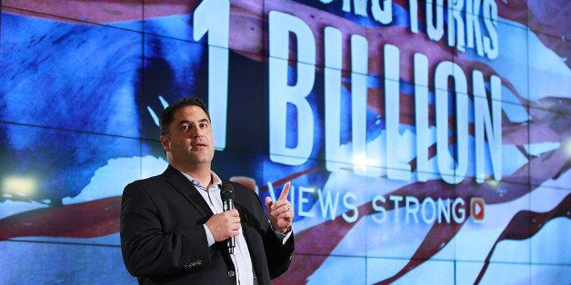 PLAYA VISTA, CA - MAY 09:  Cenk Uygur attends the Young Turks celebrate 1 billion views at YouTube LA on May 9, 2013 in Playa