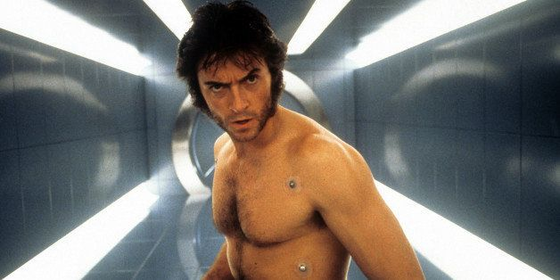 Hugh Jackman in a scene from the film 'X-Men', 2000. (Photo by 20th Century-Fox/Getty Images)