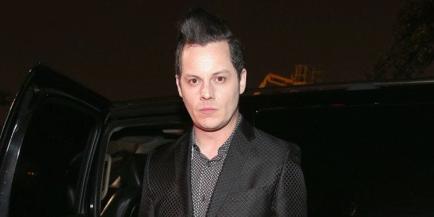 LOS ANGELES, CA - FEBRUARY 06:  Musician Jack White attends the MusiCares Double Platinum Talent Gift Lounge with Altec Lansi