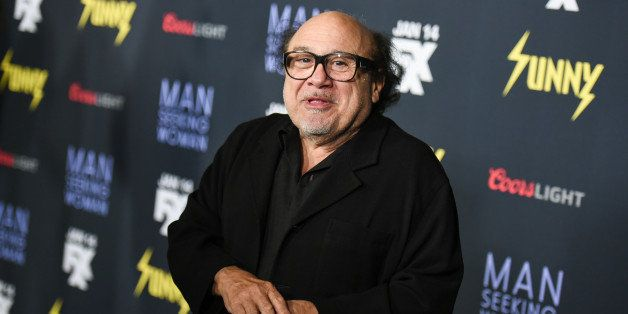 """Danny DeVito arrives at the LA Premiere Of """"It's Always Sunny In Philadelphia"""" And """"Man Seeking Woman"""" at the DGA Theater on"""
