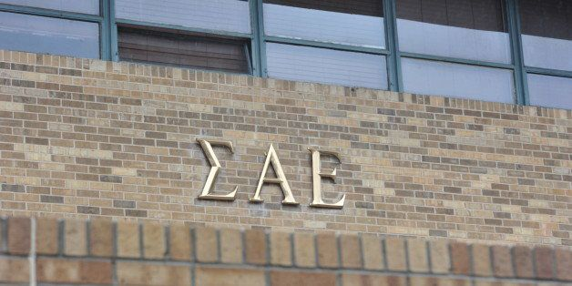 The Sigma Alpha Epsilon house at the University of Oklahoma on Monday, March. 9, 2015 in Norman, Oklahoma. The SAE fraternity