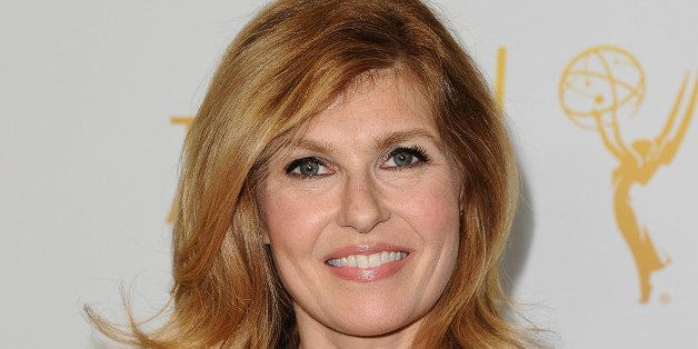 HOLLYWOOD, CA - MARCH 17:  Actress Connie Britton attends an evening with the women of 'American Horror Story' at The Montalb