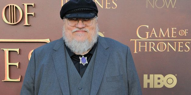 SAN FRANCISCO, CA - MARCH 23: George R.R. Martin Writer/Co-Executive Producer attends HBO's 'Game Of Thrones' Season 5 San Fr