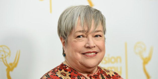 HOLLYWOOD, CA - MARCH 17:  Actress Kathy Bates arrives at An Evening With The Women Of 'American Horror Story' presented by t
