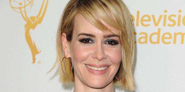 HOLLYWOOD, CA - MARCH 17:  Actress Sarah Paulson attends an evening with the women of 'American Horror Story' at The Montalba